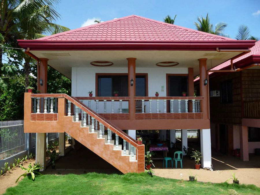 Biliran paradise sea houses biliran tourism for Pictures of two story houses in the philippines