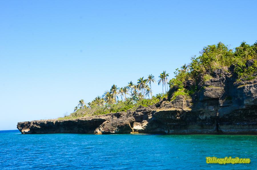 Higatangan Island Rock Formation