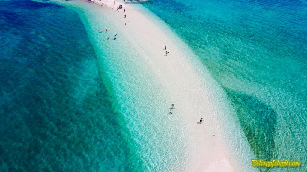 Higatangan Island Shifting Sand bar