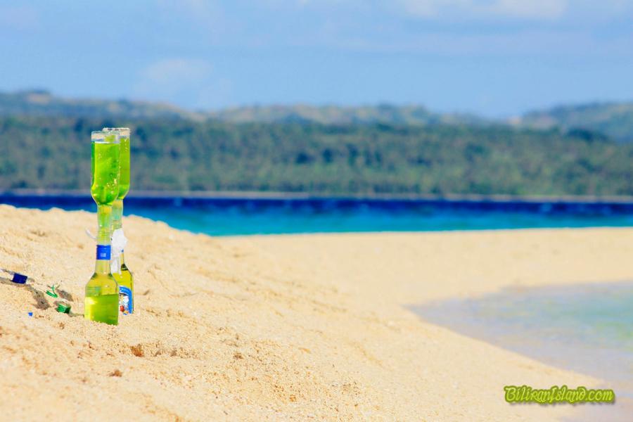 The famous shifting sand bar