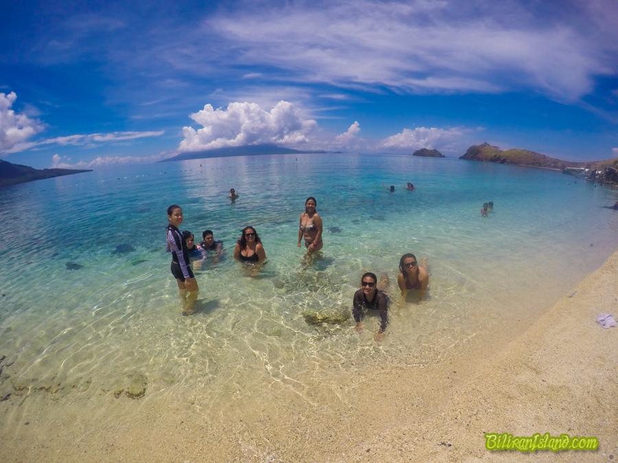 Guest from Manila at Sambawan Island, Maripipi