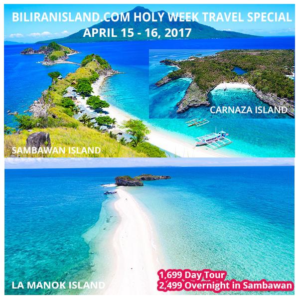 BiliranIsland.com Holy Week Promo