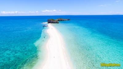 La Manok (La Manoc) Island. 'Isla Lamanok'. A hidden, unspoiled and undiscovered island between Cebu and Masbate.