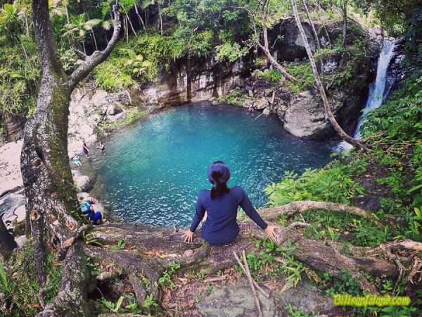 Recoletos Falls, Brgy. Sampao, Almeria, Biliran . Photo by Kurt Labong
