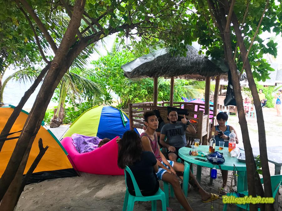 Kalanggaman Overnight Camping
